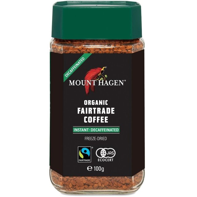 マウントハーゲン オーガニック フェアトレード カフェインレスインスタントコーヒー100g E450668H