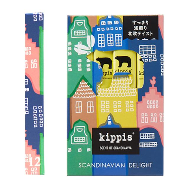 kippis × INIC coffee SCANDINAVIAN DELIGHT(浅煎り) 12杯分