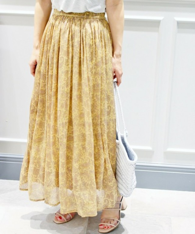 Mes Demoiselles 別注PAISLEY ROMANCE スカート