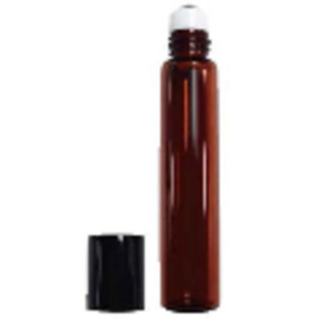 茶色遮光ガラスロールオンボトル7ml