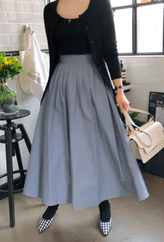 バックゴムAラインスカート