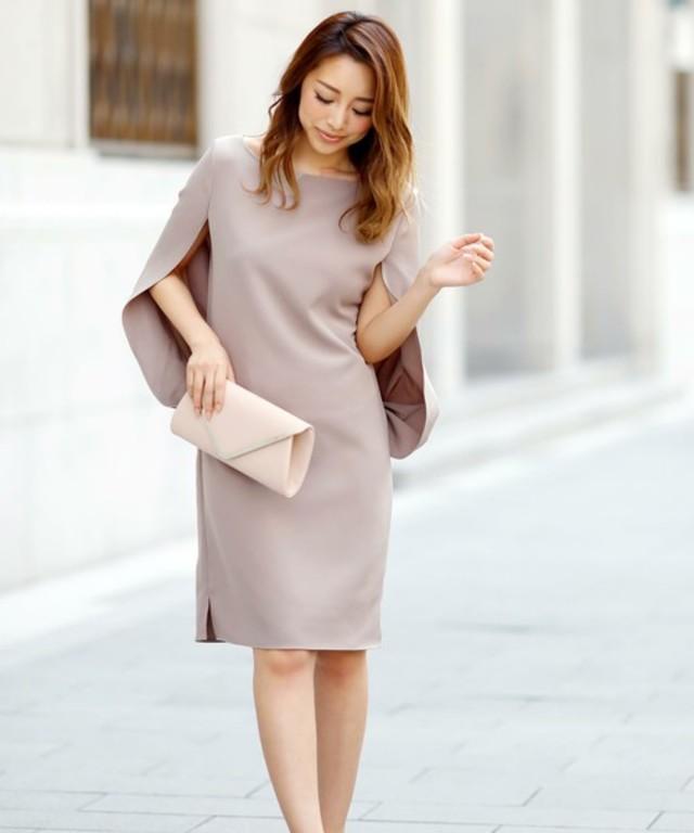 ドルマンワンピースドレス