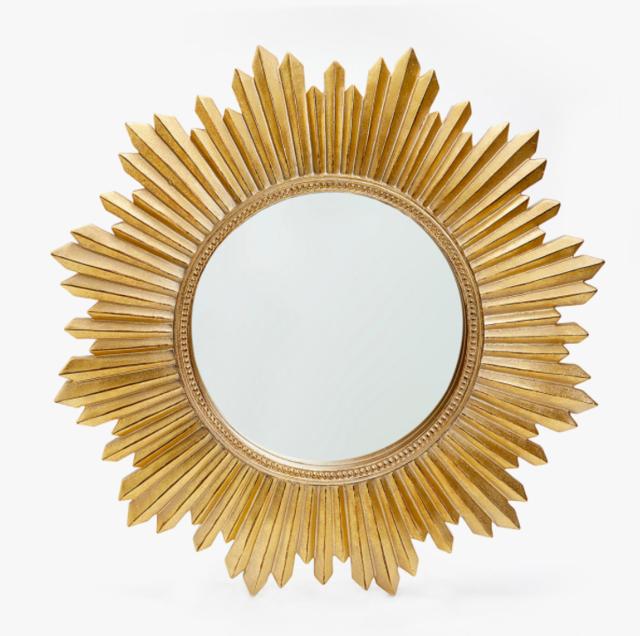 太陽形 ゴールドミラー