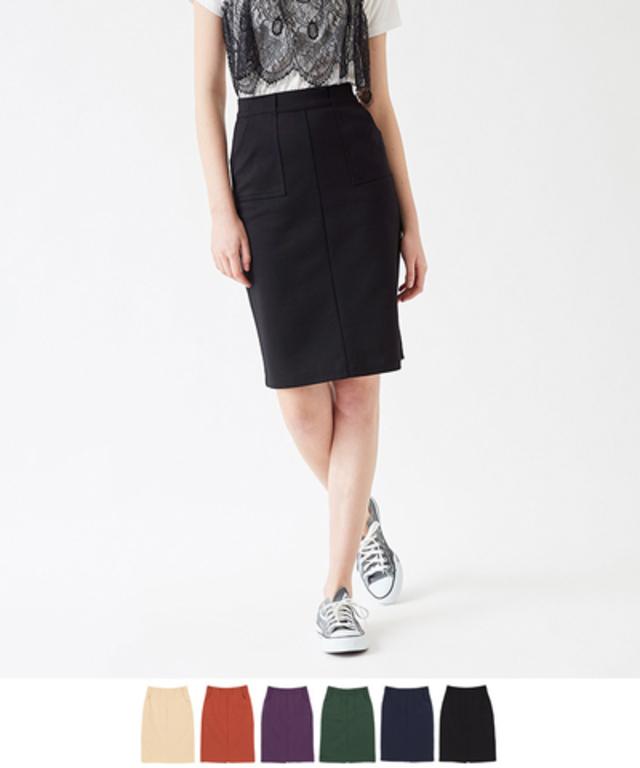 ビッグポケットポンチタイトスカート