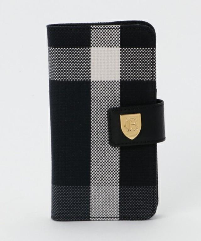 クレストブリッジチェックiPhoneケース