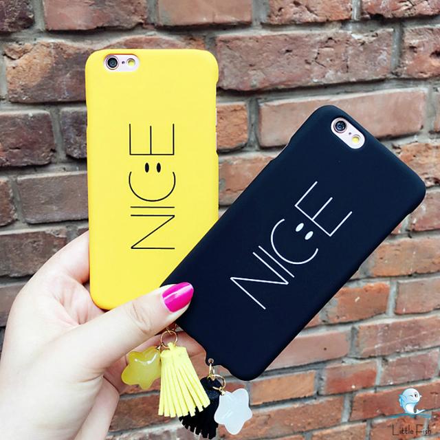 NICE ニコちゃん シンプルiPhoneケース