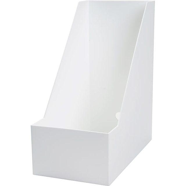A4ファイルスタンド オールホワイト(ワイド)