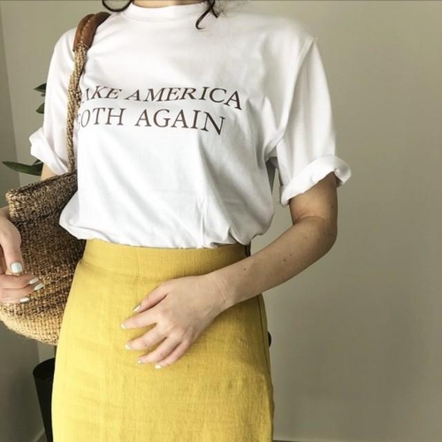 """""""MAKE AMERICA"""" logo Tshirt"""
