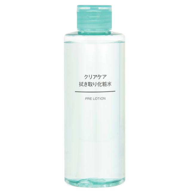 クリアケア拭き取り化粧水 200ml
