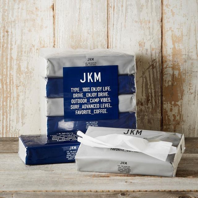 JKM ソフトパックティッシュ 300枚/150組 5パック