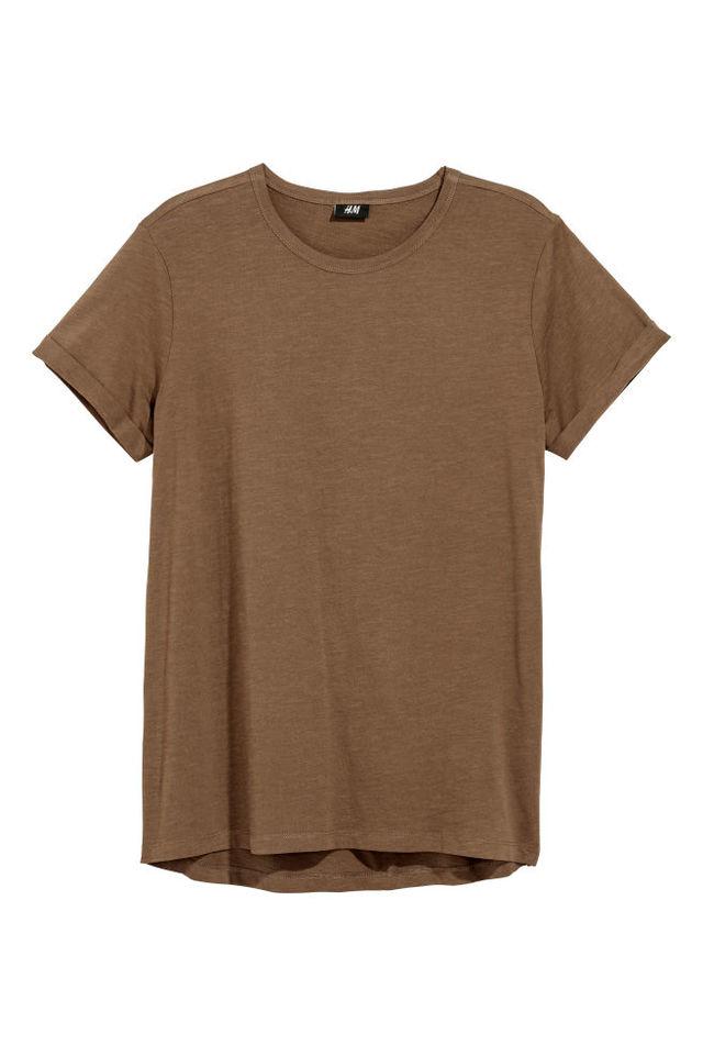 スラブジャージーTシャツ