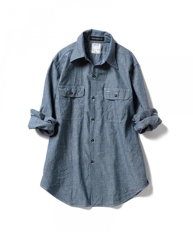 HAMPTON Chambray Shirt One Wash
