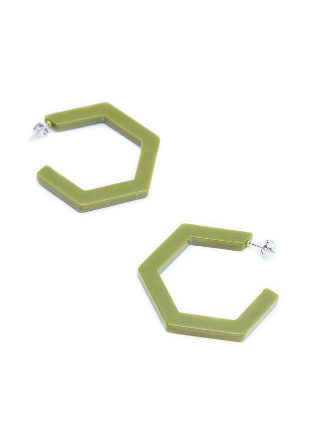 polygon hoop pierce