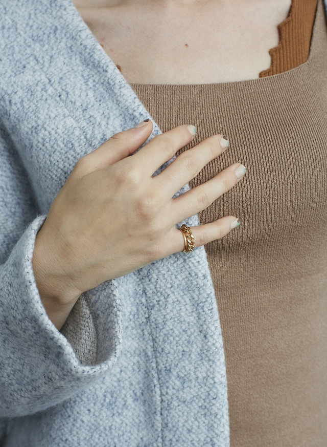two-strand ring