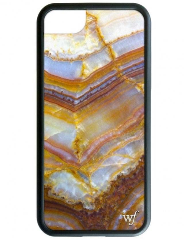 【iPhone6/7/8兼用】wildflower Mystic Stone iPhoneケース ワイルドフラワー