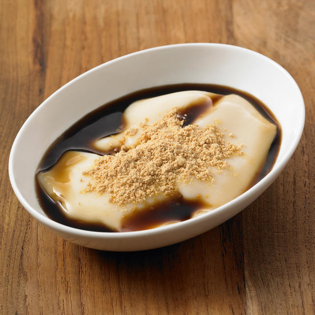 100kcalのお菓子 豆乳プリン 黒蜜きなこ付 110g(1食分)