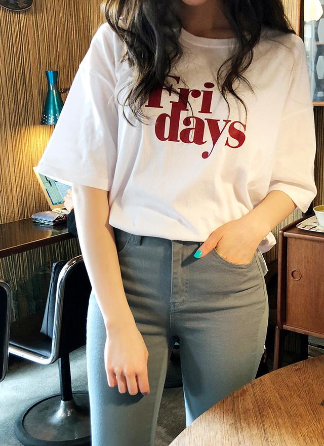 Love in TOKYO  Fri days  ハーフスリーブTシャツ