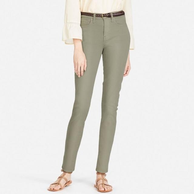 ハイライズシガレットジーンズ(カラー・丈標準70cm)