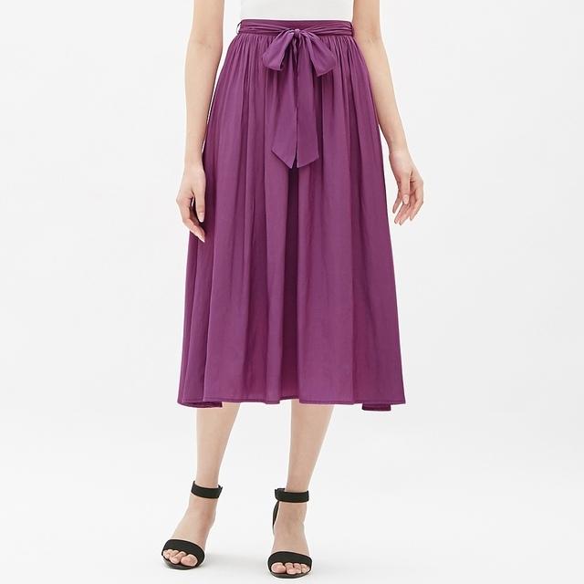 エアリーフレアロングスカート