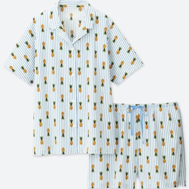 タビサ・ウェブパジャマ(パイナップル・半袖)
