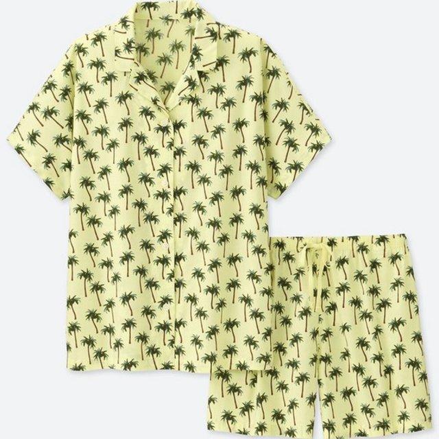 タビサ・ウェブパジャマ(ツリー・半袖)