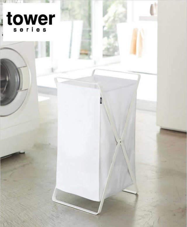 洗濯かご ランドリーバスケット タワー