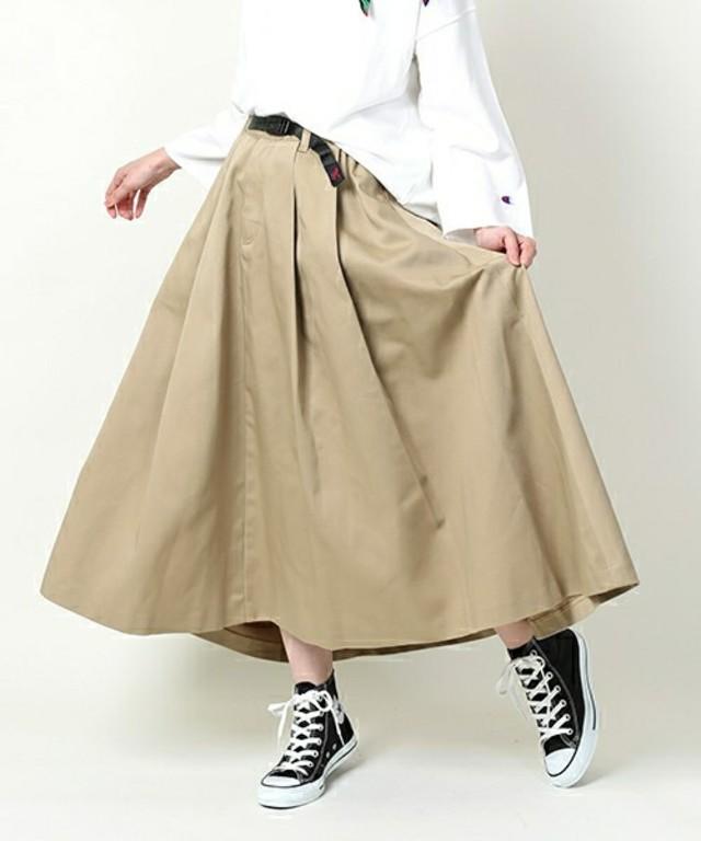 Dickies × GRAMICCI/ディッキーズ×グラミチ 別注ボリュームスカート/チノスカート