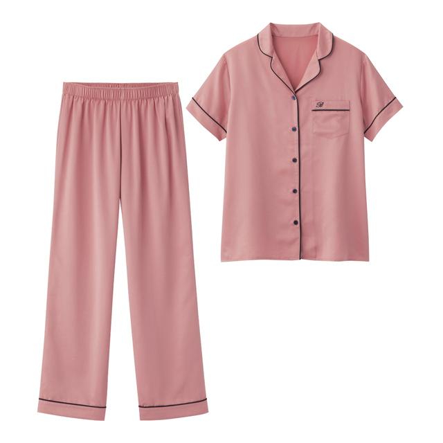 パジャマ(半袖)(サテン)