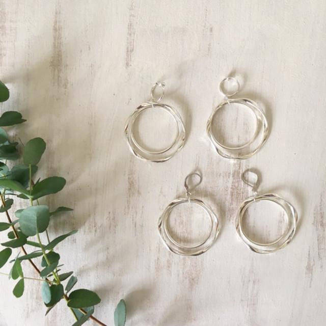 circle × circle Silver