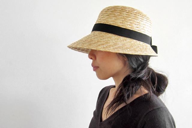 麦わら帽子 ハノン