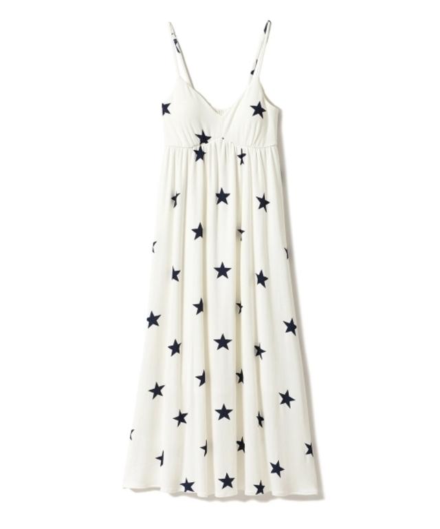 スターキャミソールカップインドレス