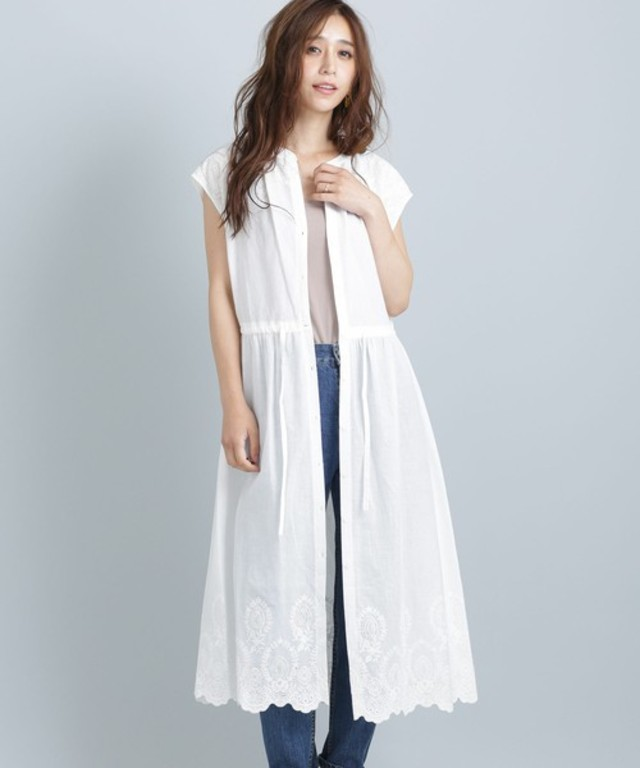 【WEB限定】刺繍ロングワンピース