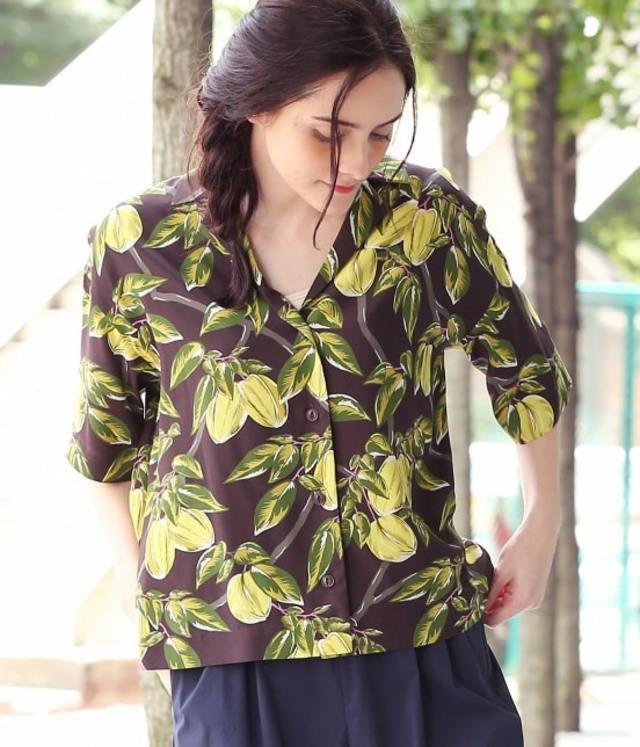 【セットアップ対応】スターフルーツアロハシャツ