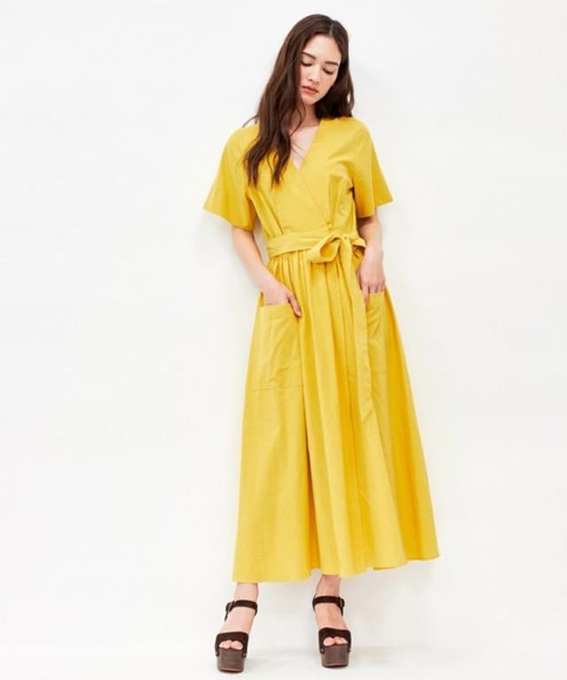 カシュクール ロング ドレス