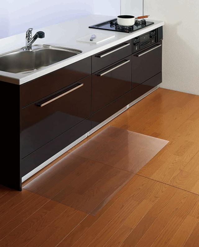 クリアキッチン保護マット120×60cm