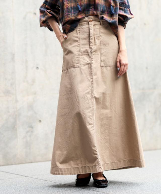 チノロングスカート
