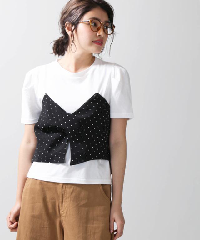 ビスチェレイヤードTシャツ
