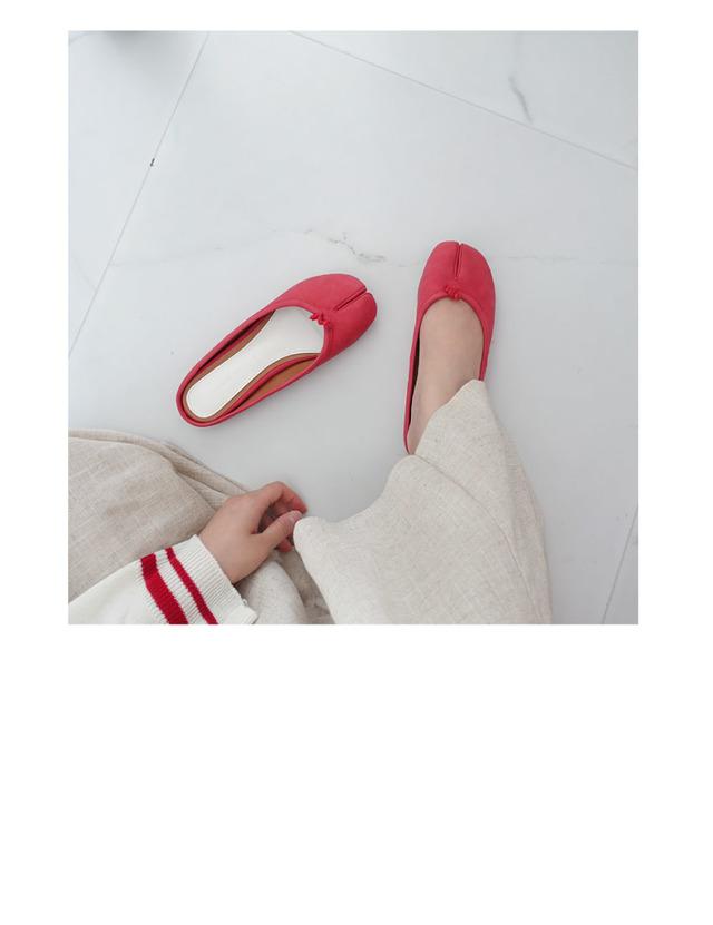 フラット足袋ミュール