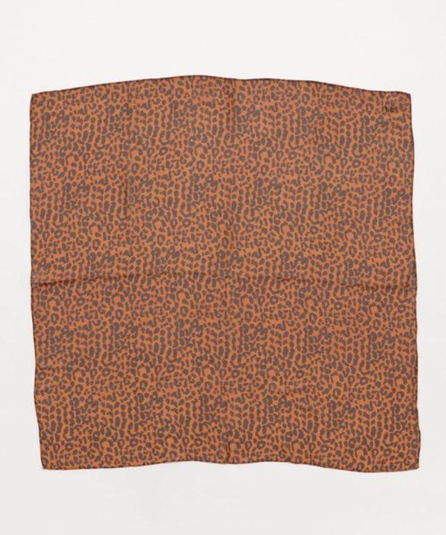 シフォンレオパードスカーフ