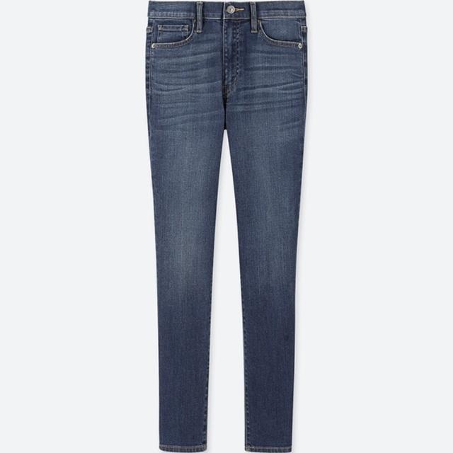 ハイライズシガレットジーンズ(丈長め82cm)