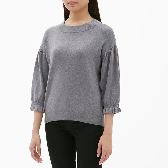 パフスリーブセーター