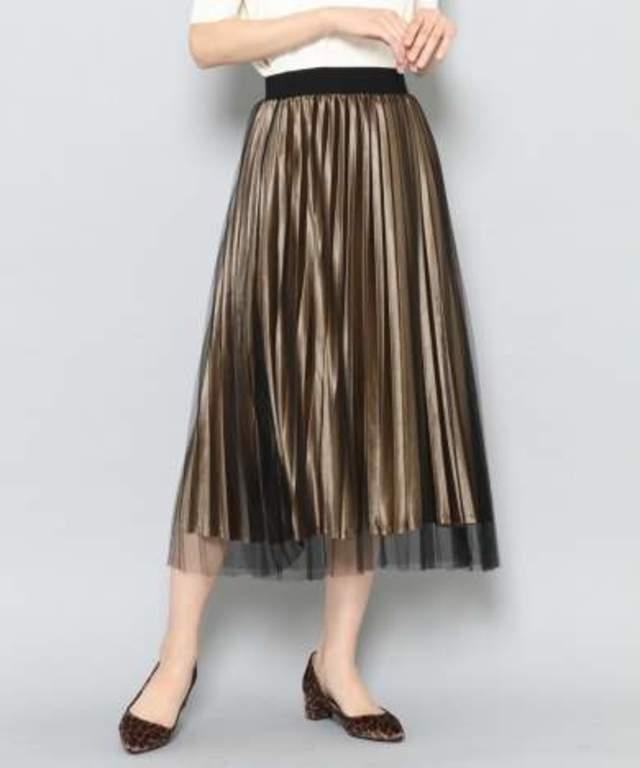 チュールベロアスカート