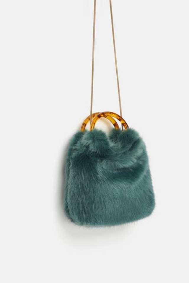 ファーミニ巾着型バッグ