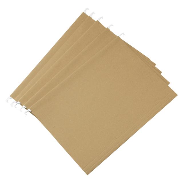 再生紙ハンギングホルダー A4サイズ用・5枚・見出しインデックス付