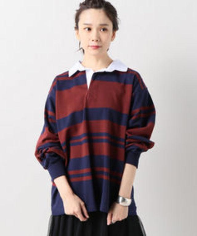 【TRIPLE CROWN/トリプルクラウン】ラガーシャツ