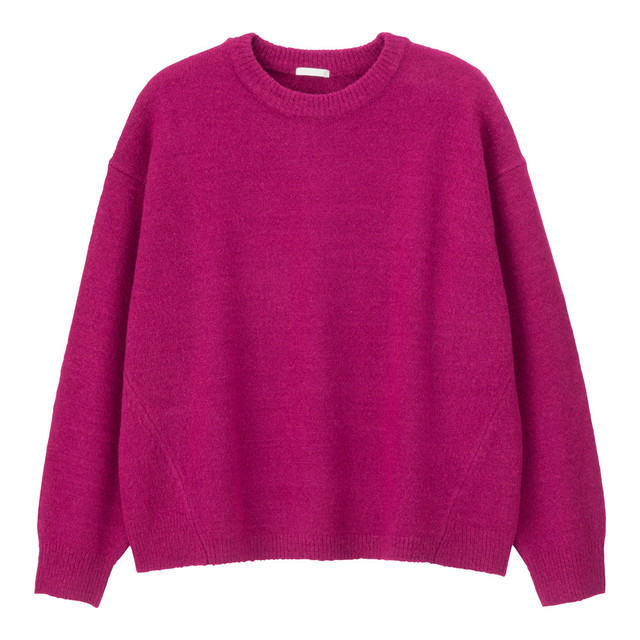 オーバーサイズクルーネックセーター(長袖)SC