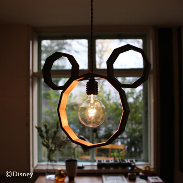 【Disney×unico】MICKEY ペンダントライト