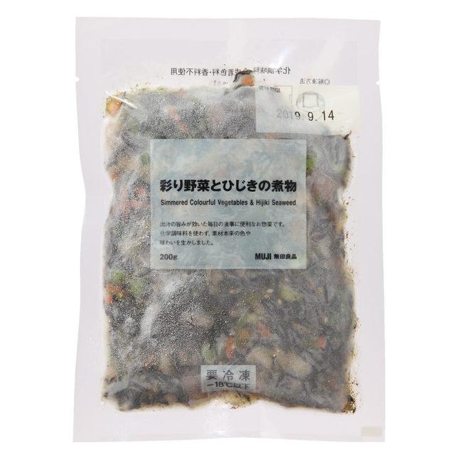 彩り野菜とひじきの煮物(200g)