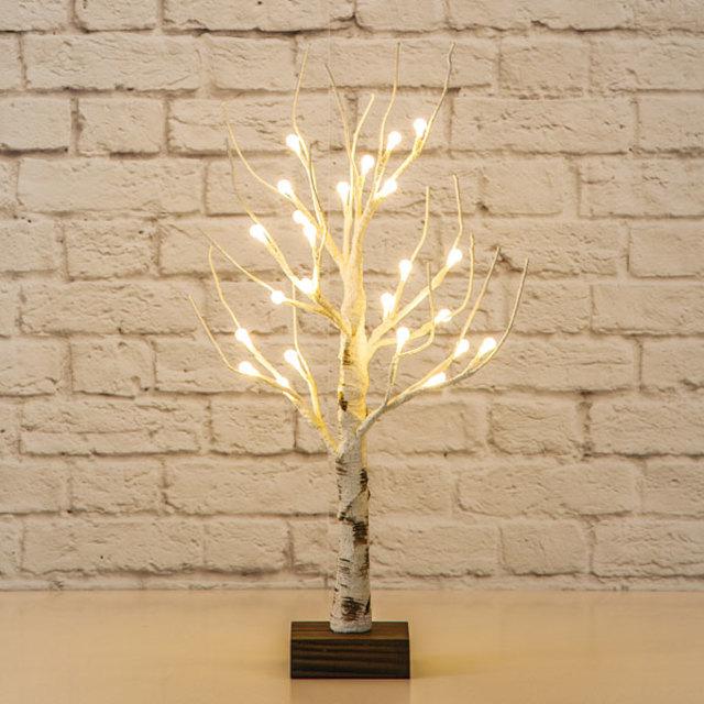 LEDツリー60cm(シラカバウッド)