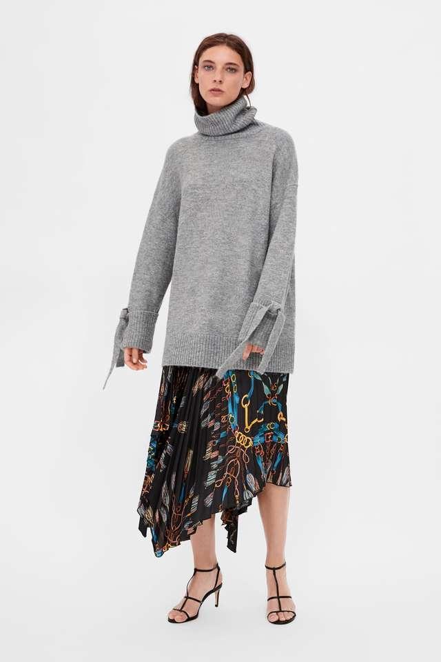 リボン付きセーター